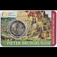 2 Euro Bruegel 2019 Stgl. Belgien NL-Version