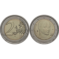 2 Euro Leonardo da Vinci 2019 bfr Italien