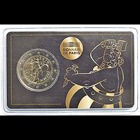 2 Euro Asterix in Coincard Obelix 2019 Stgl. Frankreich