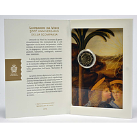 2 Euro Leonardo da Vinci 2019 Stgl. San Marino