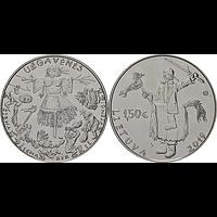1,5 Euro Winterende - Uzgavenes 2019 bfr Litauen