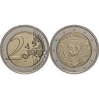 2 Euro Sutartines - Litauische Volkslieder 2019 bfr Litauen