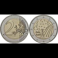 2 Euro Solidarität - Natur, Umwelt 2019 bfr Malta