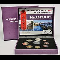 KMS Niederland 2019 PP 2 Euro coloriert