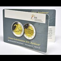 2 Euro Bundesrat 2019 bfr Deutschland in Coincard
