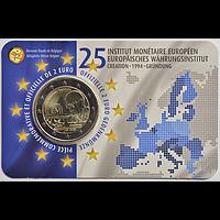 2 Euro EWI 2019 Stgl. Belgien Coincard FR