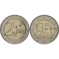 2 Euro Wahlrecht 2019 bfr Luxemburg