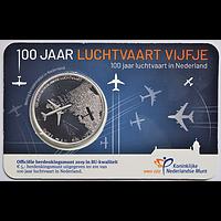 Niederlande 2019 5 Euro 100 Jahre Luftfahrt Stgl.