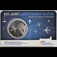 Niederlande 2019 5 Eurp 100 Jahre Luftfahrt bfr