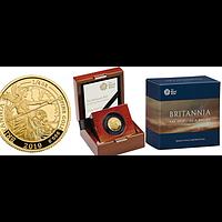 Großbritannien 2019 25 Pfund Britannia 1/4 oz PP