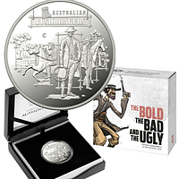 Australien 2019 1 Dollar The Bold, The Bad und The Ugly - im Etui PP