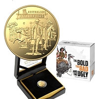 Australien 2019 10 Dollar The Bold, The Bad und The Ugly - im Etui PP