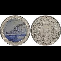 Spanien 2019 1,5 Euro Kreuzer Carlos V. bfr