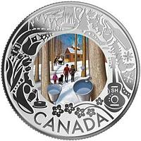 Kanada 2019 3 Dollar Schlittenhunderennen - Ahronsirupverkostung PP