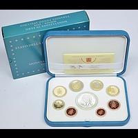 Vatikan 2019 23,88 Euro KMS Vatikan mit 20 Euro Gedenkmünze PP