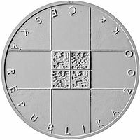 Tschechische Republik 2019 200 Kronen 100 Jahre Tschechisches Rotes Kreuz Stgl.