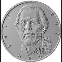 Tschechische Republik 2019 200 Kronen 150 Geb. Ales Hrdlicka - Anthropologe PP