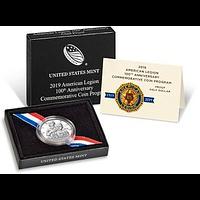 USA 2019 1/2 Dollar 100 J.ahre Amerikanische Legion PP