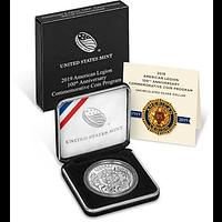USA 2019 1 Dollar 100 Jahre Amerikanische Legion Stgl.