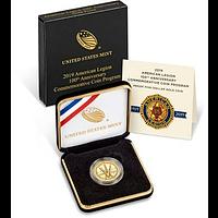 USA 2019 5 Dollar 100 Jahre Amerikanische Legion PP