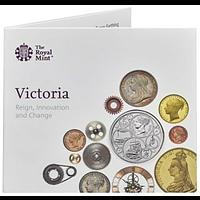 Großbritannien 2019 5 Pfund 200. Geburtstag Queen Victoria - Blister Stgl.
