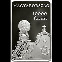 Ungarn 2019 10000 Forint 150 J. Geologisches Institut rechteckig PP