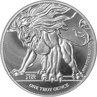 Niue 2019 2 Dollar Brüllender Löwe von Judah 1 oz Stgl.