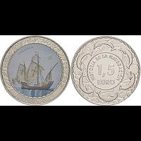 Spanien 2019 1,5 Euro Karavelle #12 bfr