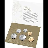 Australien 2019 3,85 Dollar Kursmünzensatz Portraits im Wandel der Zeit Stgl.