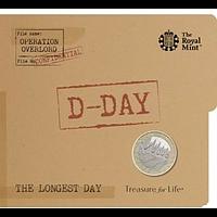 Großbritannien 2019 2 Pfund 75. Jahrestag des D-Day - im Blister Stgl.