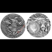 Niue 2019 5 Dollar Ancient Myths - Prometheus PP