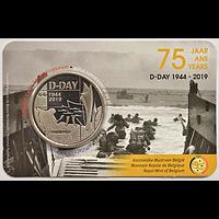 5 Euro D-Day 2019 bfr Belgien im Bliste