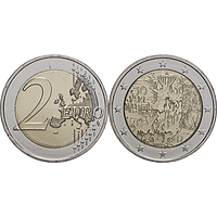 2 Euro Mauerfall 2019 D bfr Deutschland