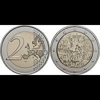 2 Euro Mauerfall 2019 F bfr Deutschland