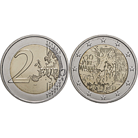 2 Euro Mauerfall 2019 G bfr Deutschland
