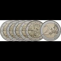 2 Euro Mauerfall - Komplettsatz 2019 bfr Deutschland