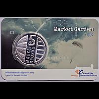 5 Euro 75 Jahre Market Garden 2019 bfr Niederlande Coincard