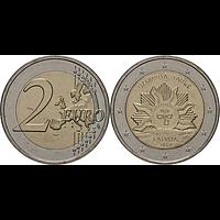 2 Euro Sonne 2019 bfr Lettland