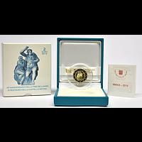 2 Euro Sixtinischen Kapelle 2019 PP Vatikan