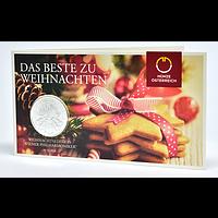 1,5 Euro Philharmoniker Weihnachtsblister 2019 Stgl. Österreich
