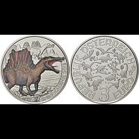 3 Euro Spinosaurus Aegyptiacus #1 2019 Stgl. Österreich