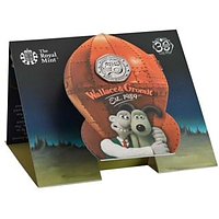 Großbritannien 2019 50 Pc Wallace and Gromit - Blister Stgl.