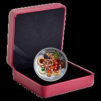 Kanada 2020 20 Dollar Weihnachtskekse - mit Muranoglas - farbig PP