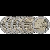 2 Euro Brandenburg Komplettsatz 2020 bfr Deutschland