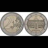 2 Euro Brandenburg 2020 bfr Deutschland