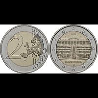 2 Euro Brandenburg 2020 D bfr Deutschland