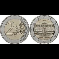 2 Euro Brandenburg 2020 F bfr Deutschland
