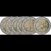 2 Euro Kniefall von Warschau 2020 bfr Deutschland Komplettsatz