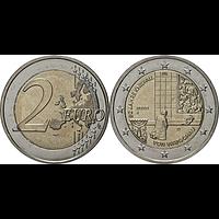 2 Euro Kniefall von Warschau 2020 bfr Deutschland Buchstabe unserer Wahl