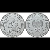 20 Euro Der Wolf und die sieben Geißlein 2020 bfr Deutschland